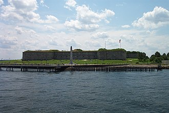 Castle Island (Massachusetts) - Fort Independence at Castle Island