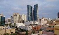 Fort Lauderdale skyline, featuring Las Olas Ri...