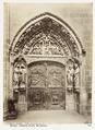 Fotografi av Burgos. Catedral, puerta del claustro - Hallwylska museet - 105347.tif