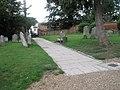 Framlingham, St Michael, church path - geograph.org.uk - 2016952.jpg