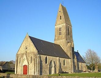 Cussy - The church in Cussy