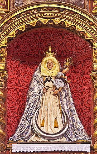 Virgen de Consolación, Iglesia San Franciso de ASís, Sta. Cruz de Tenerife, Esp.