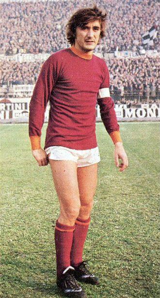 Franco Cordova - Cordova captain of Roma in 1974
