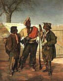 Frank Buchser (1828-1890) - The volunteer's return.jpg