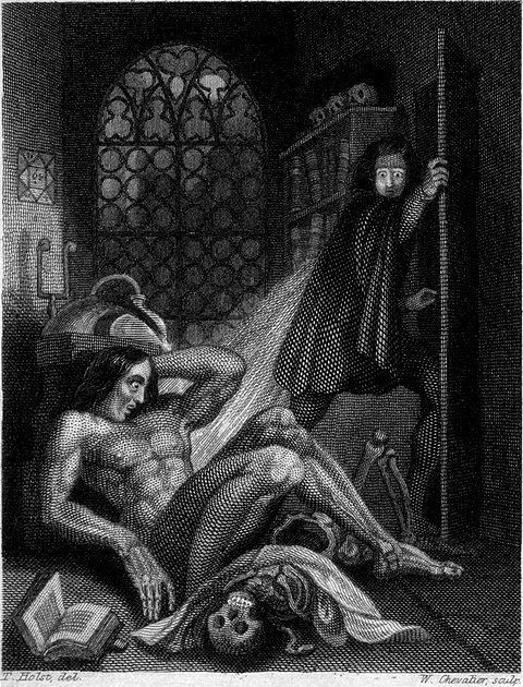 Frankenstein, or the Modern Prometheus (Revised Edition, 1831) 006.jpg