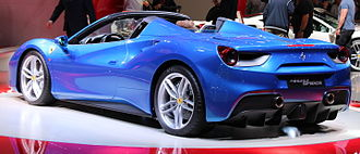 Ferrari 488 - Ferrari 488 Spider