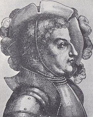 Knights' Revolt - The ringleader of the knights: Franz von Sickingen