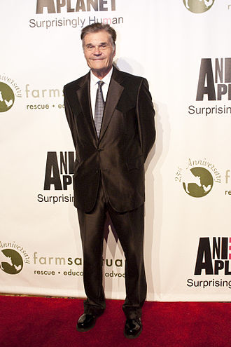Fred Willard - Willard at the Farm Sanctuary 25th Anniversary Gala in New York City on May 14, 2011