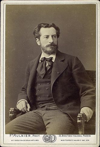 Frédéric Auguste Bartholdi - Bartholdi early in his career.