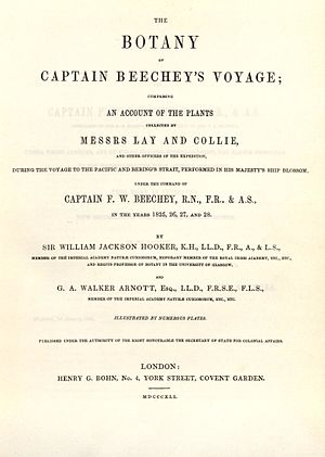 Frederick William Beechey - The Botany of Captain Beechey's Voyage, 1841