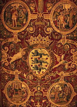 Hans Knieper - Detail of the Throne Baldaquin