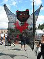 Fremont Fair 2007 pre-parade bear.jpg