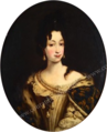 French School - Anne Marie d'Orléans, oval.png