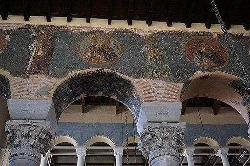 Fresque chapiteaux Acheiropoietos 00576