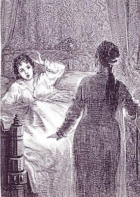 Friston, Carmilla (Laura in bed)