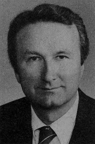 David B. Frohnmayer - Frohnmayer in 1984