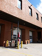 Fuel station at Boston Fire Department Firehouse in Jamaica Plain.JPG