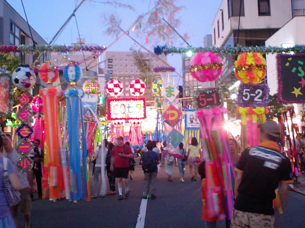 Resultado de imagem para Tanabata Festival