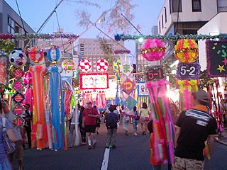 <i>Tanabata</i> Japanese festival (Japanese version of Double Seventh Festival)