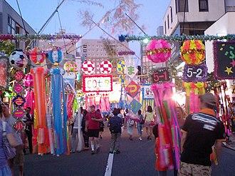Tanabata - Celebration in Tokyo, 2010