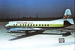 G-AZNH V Viscount Skyline Sweden EMA 28-05-77 (36787725876).jpg