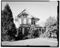 GENERAL VIEW OF FRONT - Thomas A. Manning House, 509 Cabell Street, Lynchburg, Lynchburg, VA HABS VA,16-LYNBU,99-1.tif
