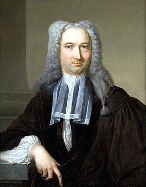 Carel Isaak de Moor - Portrait of the Dutch lawyer Gerlach Scheltinga
