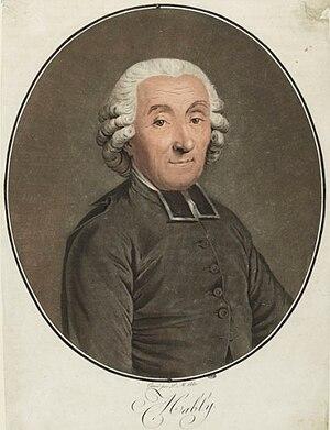 Gabriel Bonnot de Mably - Gabriel Bonnot de Mably, Musée de la Révolution française.