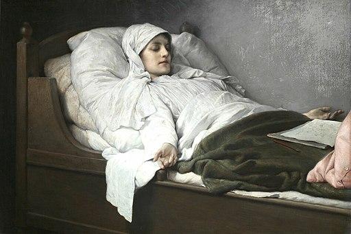 Gabriel von Max - The Seeress of Prevorst