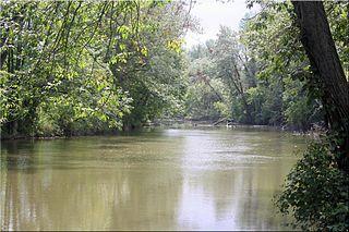 Ganargua Creek river in the United States of America