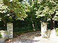 Gates to Vicarage Farm and Northover Vicarage - geograph.org.uk - 1412989.jpg