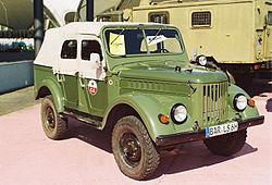 В последние годы своего существования на конвеере, выпускался на заводе УАЗ.  ГАЗ-69 имеет двухдверную компоновку и...