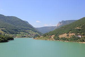Zubin Potok - Image: Gazivode Lake
