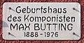 Gedenktafel Brunnenstr 148 (Mitte) Max Butting.JPG