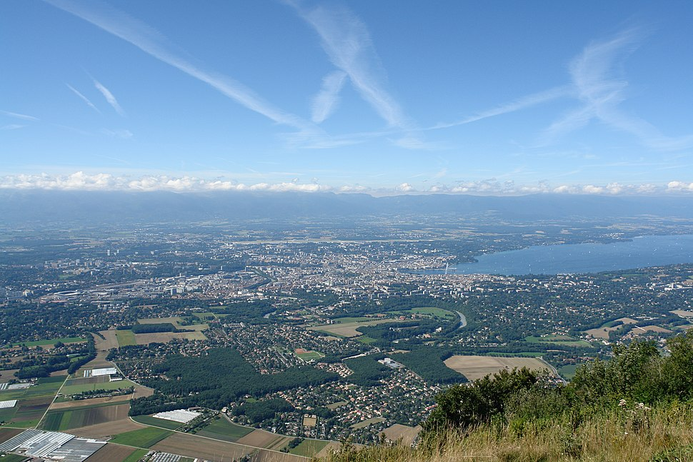 Genève vue du Salève