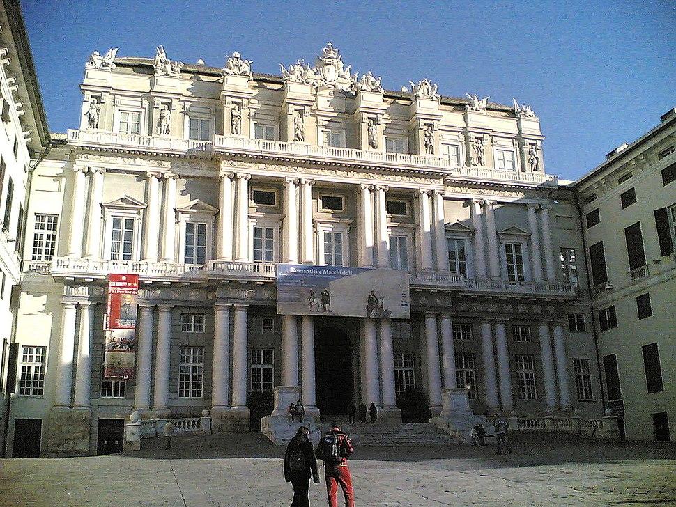Genova-Palazzo Ducale da Piazza Matteotti