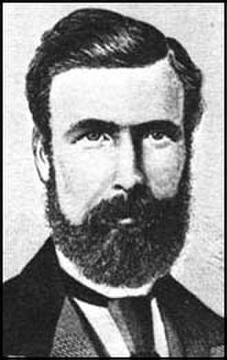 President of the Trades Union Congress - George Potter, President in 1871