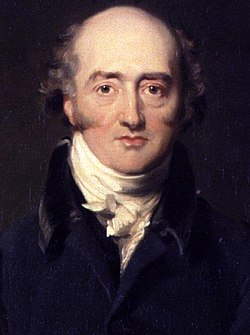 George canning by richard evans   detail
