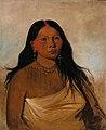 George Catlin - Káh-kée-tsee, Thighs, a Wichita Woman - 1985.66.58 - Smithsonian American Art Museum.jpg