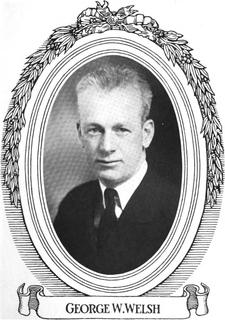 George W. Welsh American politician
