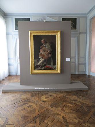 The Hurdy-Gurdy Player - Le Vielleur restauré, présenté à l'Hôtel Montaudouin dans le cadre du second Voyage à Nantes, été 2013
