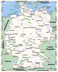 lengste elv i tyskland