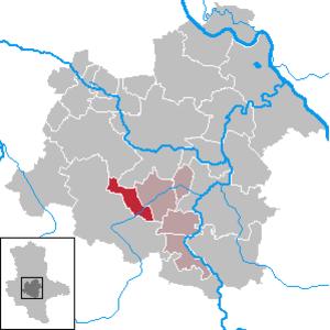 Giersleben - Image: Giersleben in SLK