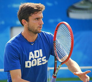 Gilles Simon French tennis player