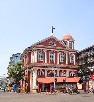 Girgaon - St. Theresa's Church in Girgaon.