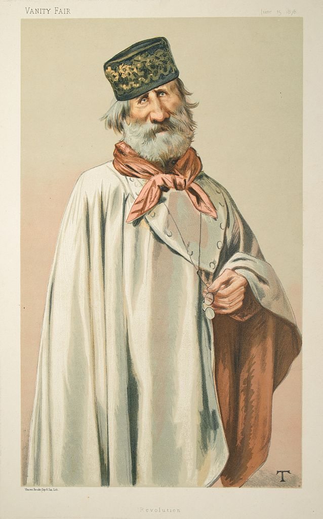 File Giuseppe Garibaldi Vanity Fair 1878 06 15 Jpg Wikimedia Commons