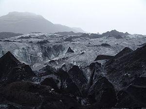 Mýrdalsjökull - Image: Glacier Iceland