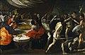 Gladiadores en un banquete (Lanfranco).jpg