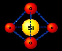 Glass tetrahedon