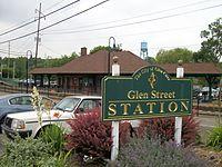Glen Street Station; Glen Cove sign.jpg